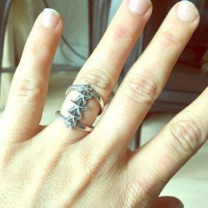 NWT Pamela Love Star Ring Sterling Silver